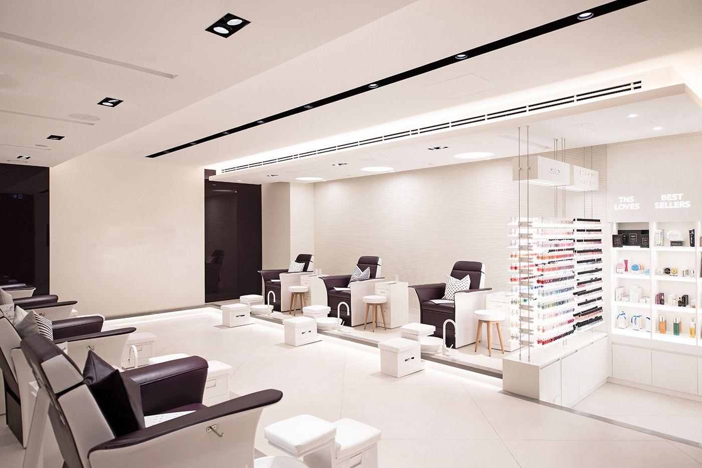 The Nail Spa Bishop Design By Paul Bishop Interior Design